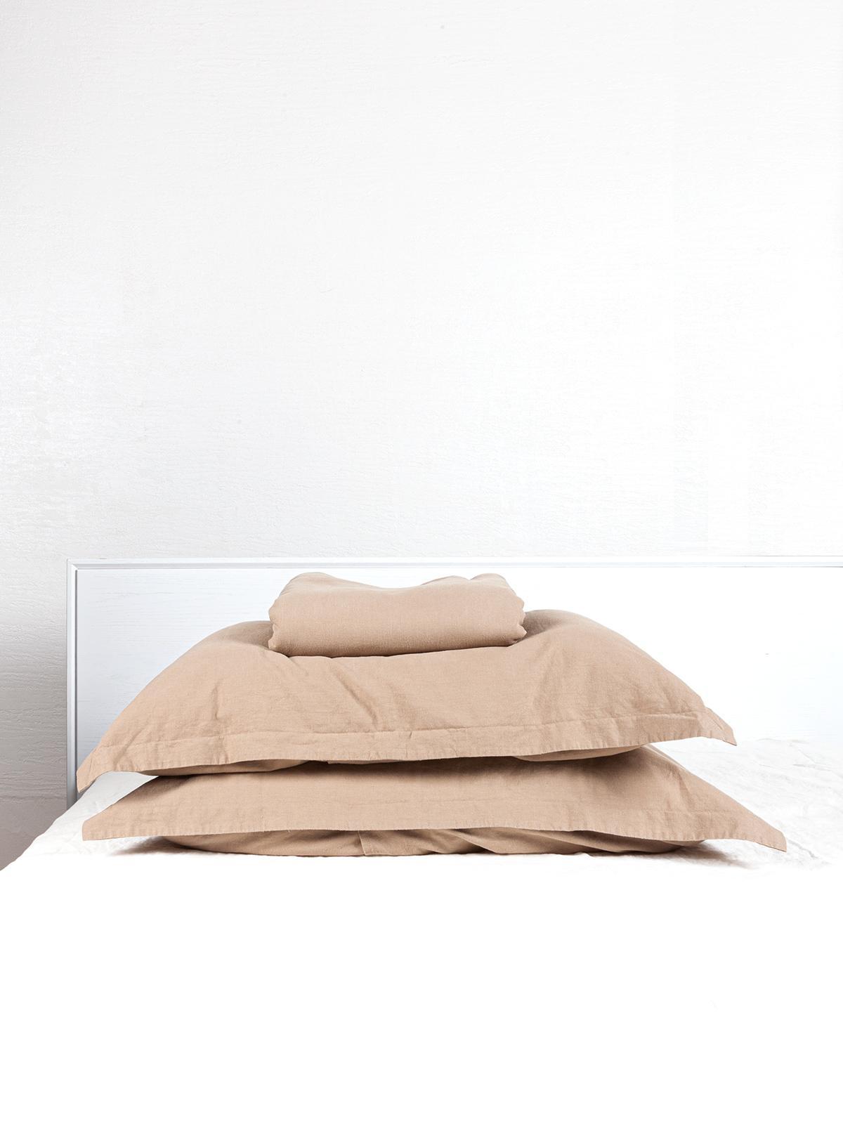Crete ヘンプ 掛けカバー3点セット 健康的な快眠を ソフト加工