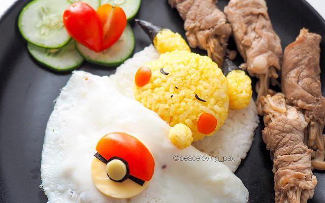 High level onigiri food artist! Just too cute!