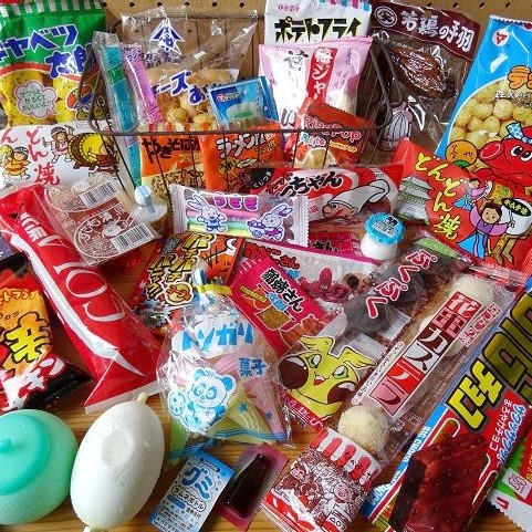 Best 5 Japanese Dagashi (cheap snack) collection.